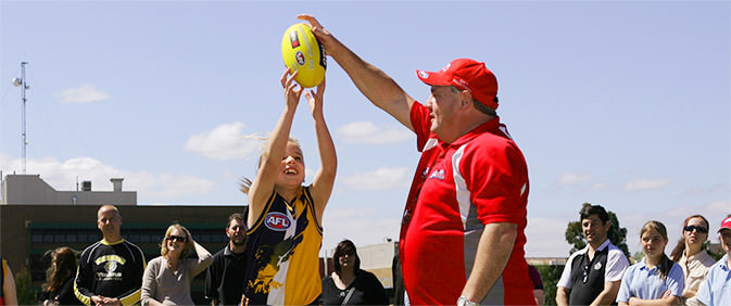 NAB AFL Auskick Volunteer of the Year